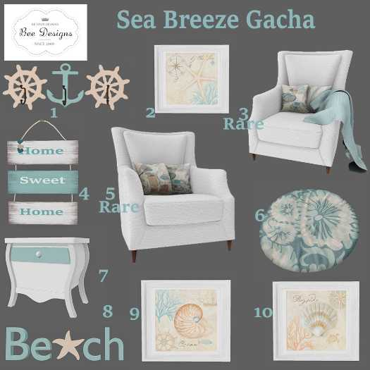 Bee Designs - Sea Breeze